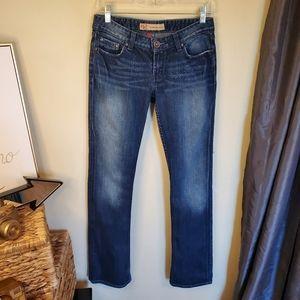 BKE Denim Sabrina Boot Cut Stretch Jeans Size 28